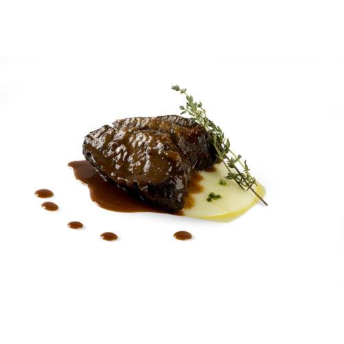 Carrilleras de ternera en salsa de vino – Ración individual de 280 gramos