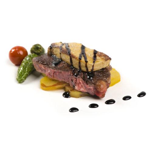 Solomillo al foie con reducción de Pedro Ximenez – 200 gramos