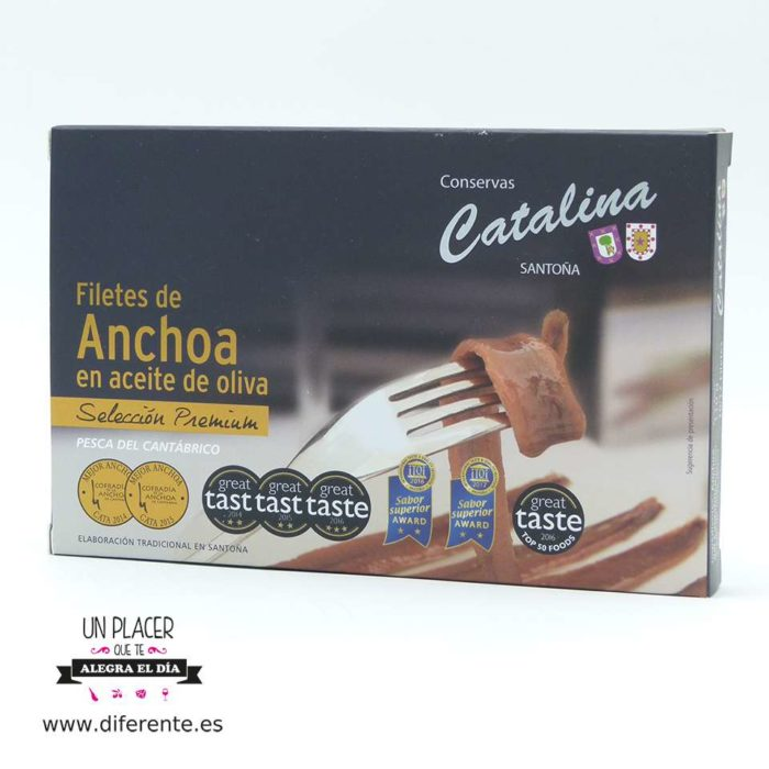 Anchoas Catalina 112 grs