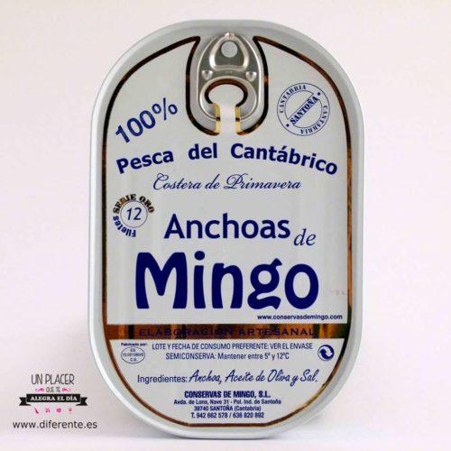 Anchoas Mingo alta restauración